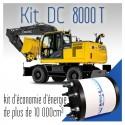 Kit DC 8000 T - pour engins de terrassement