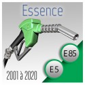 essence de 2001 à 2020.Pack optimisé