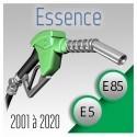 Pack complet de 2001 à 2020